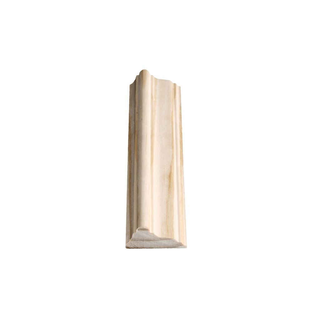 Solid Clear Pine Chair Rail 11/16 In. x 1-11/16 In. x 8 Ft.