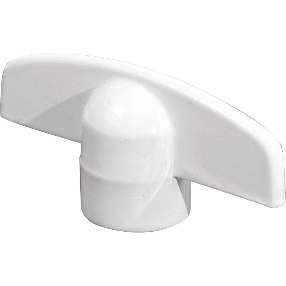Universal T-Crank Handle in White