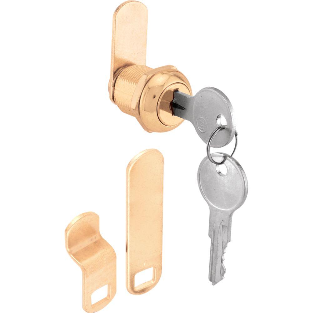 5/8-inch Brass Cam Lock
