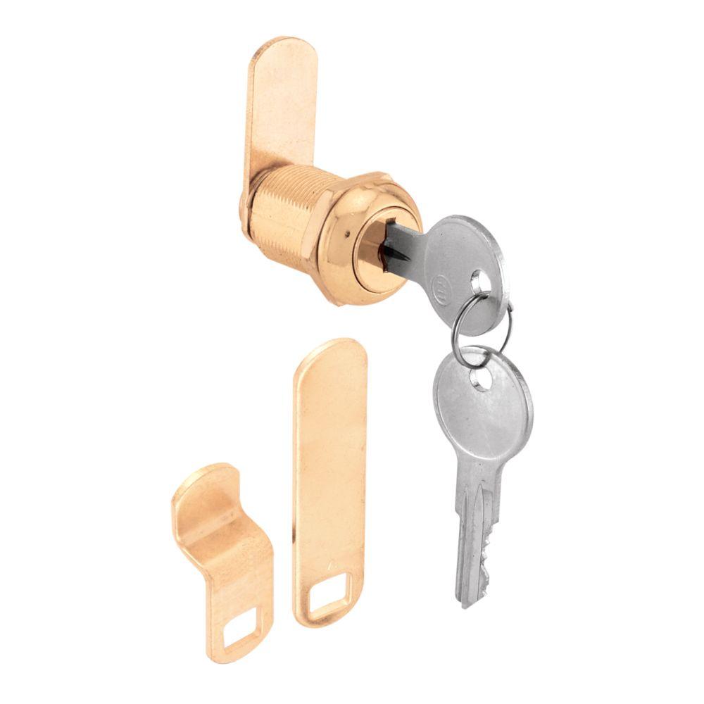 7/8 in. Brass Cam Lock