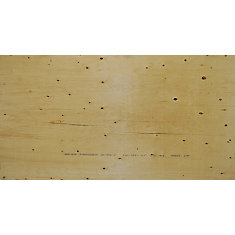 3/4 inches 4 ftx8 ft Select Spruce Plywood