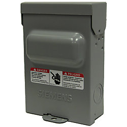 Siemens 60A 240V Non-Fused Air Conditioning Disconnect Switch