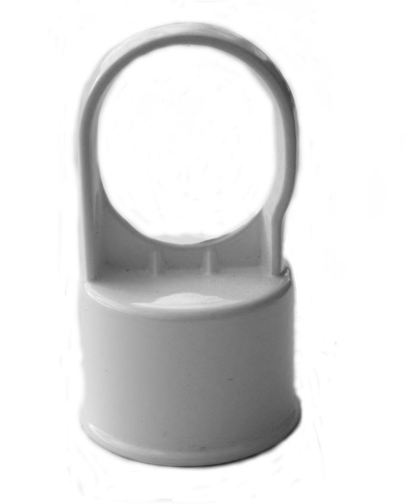 Master Halco White 1 1/2 Inch Line Post Cap