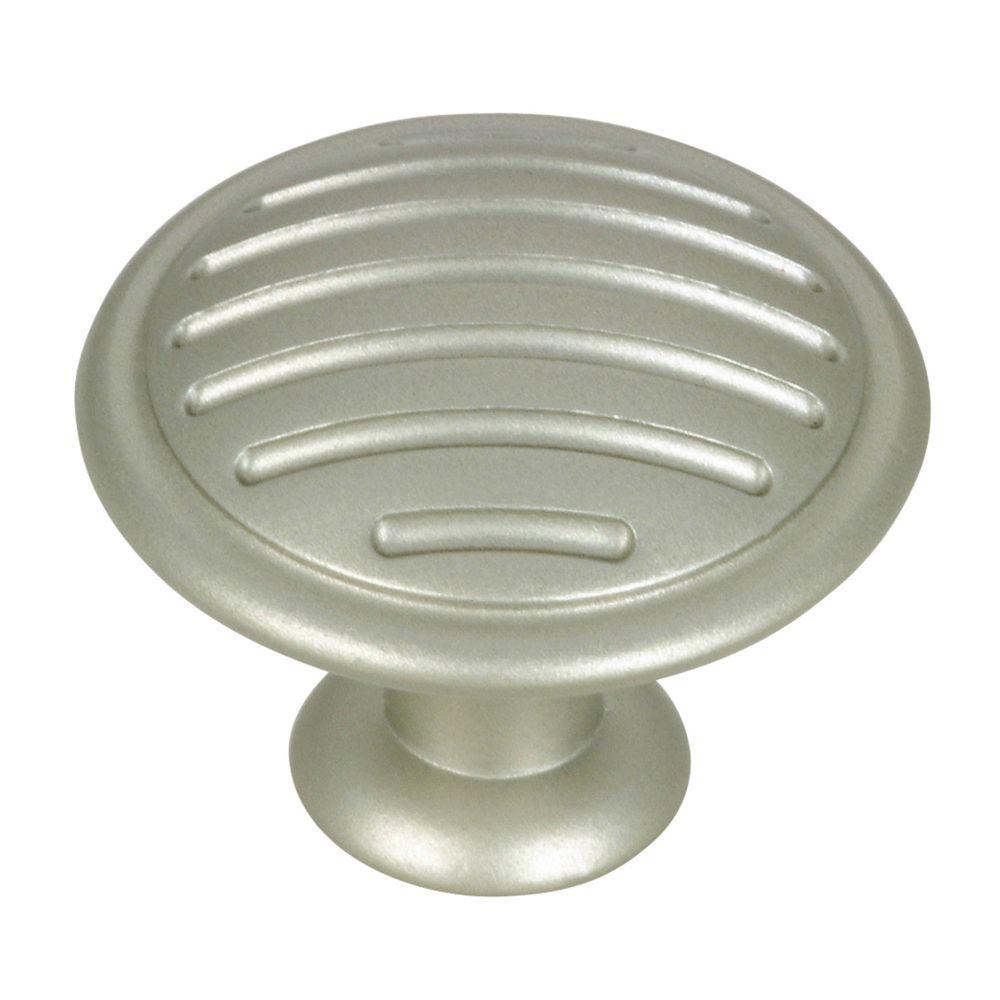 Bouton contemporain en métal - Dia. 30 mm