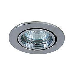 Eurofase Mini Luminaires cylindriques à encastrer, Bas Voltage, satiné en nickel