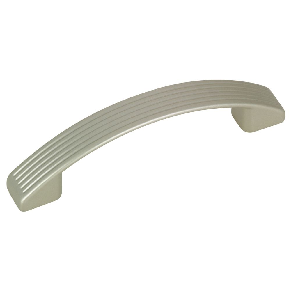 Contemporary Metal Pull - Metallic Nickel - 96 mm C. To C.