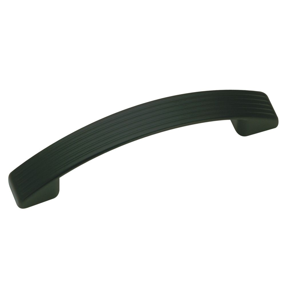 Contemporary Metal Pull - Matte Black - 96 mm C. To C.