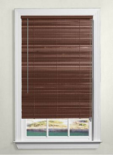 p en home blinds collection inch white x blind wood decorators depot faux