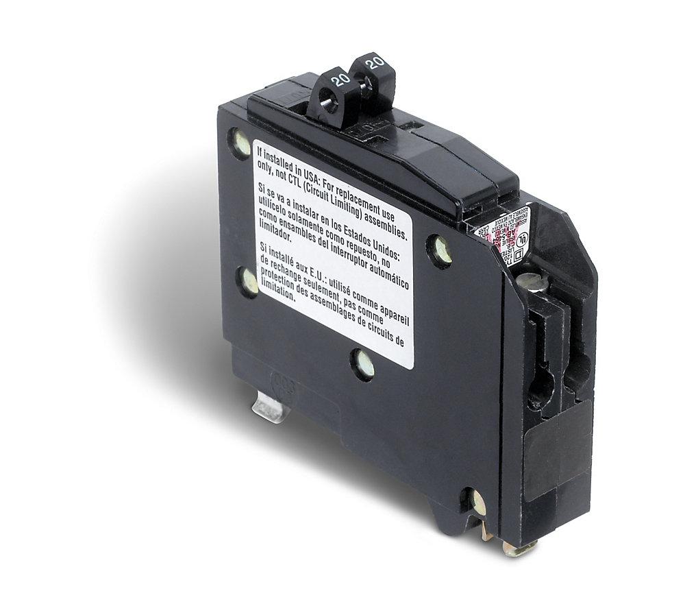 Single Pole 20 Amp QO Tandem Circuit Breaker