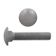 1/2 x 2-1/2 GR2 Carriage Bolt HDG
