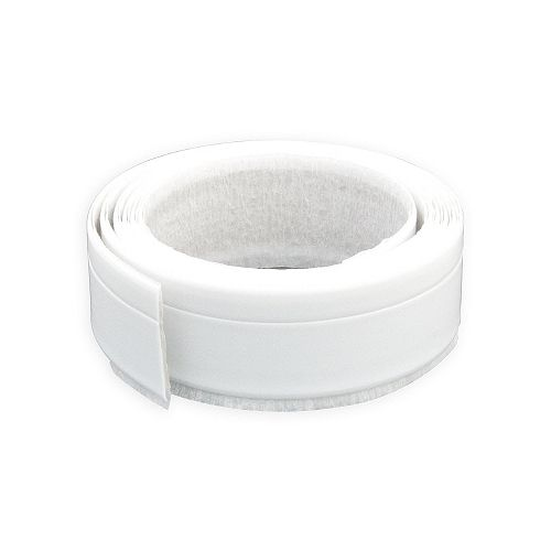 Seal-A-Crack 1/4-inch x 1 1/4-inch x 66-inch Plastic Contour Seal for Bathtubs