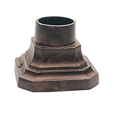 Antique Copper Pedestal Base