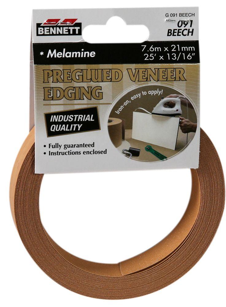 25 Feet x 13/16 Melamine Beech Edgeband G091 BEECH Canada Discount