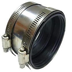 Pro-Connect Shielded Coupling 3 inch Cast Iron To 3 inch Copper