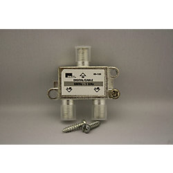 IDEAL Répartiteur 2-voies deTV numérique par câble