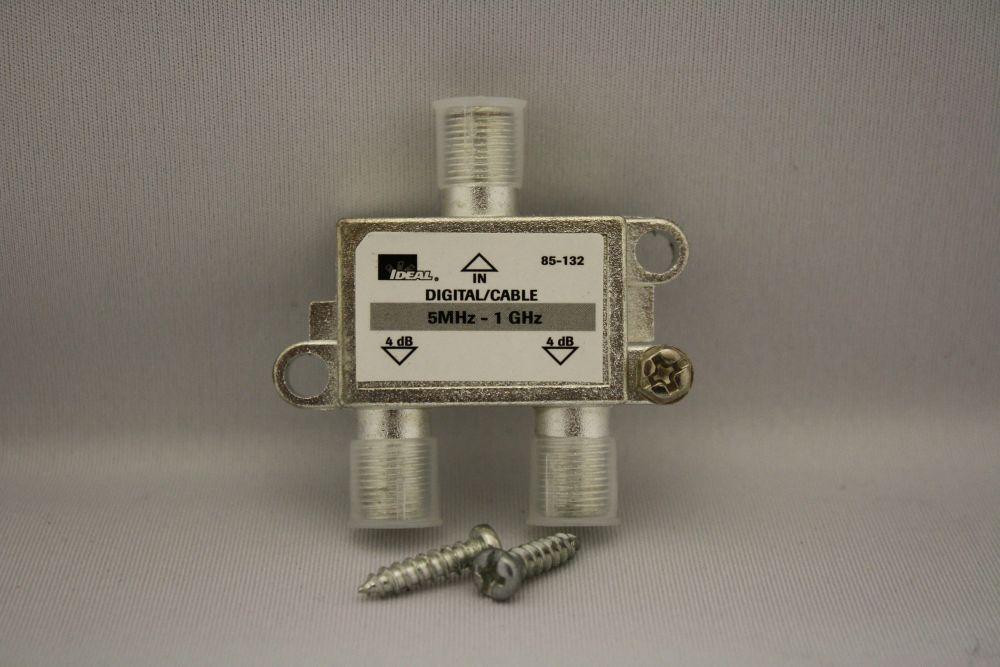 Répartiteur 2-voies deTV numérique par câble