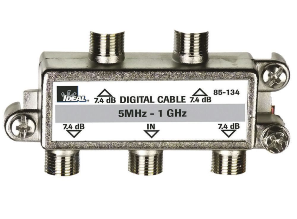 Digital Cable Tv Splitters : Ideal way digital cable tv splitter the home depot canada