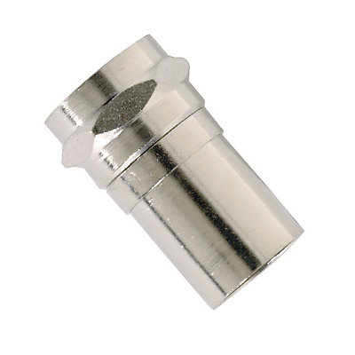 IDEAL Cable TV Crimp On F Connector for RG6 Quad Coax Cable