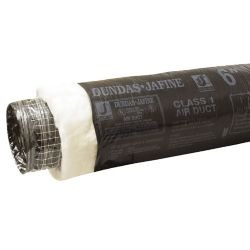 Dundas Jafine Flexible Insulated Duct, Residential 4 inchX10 foot