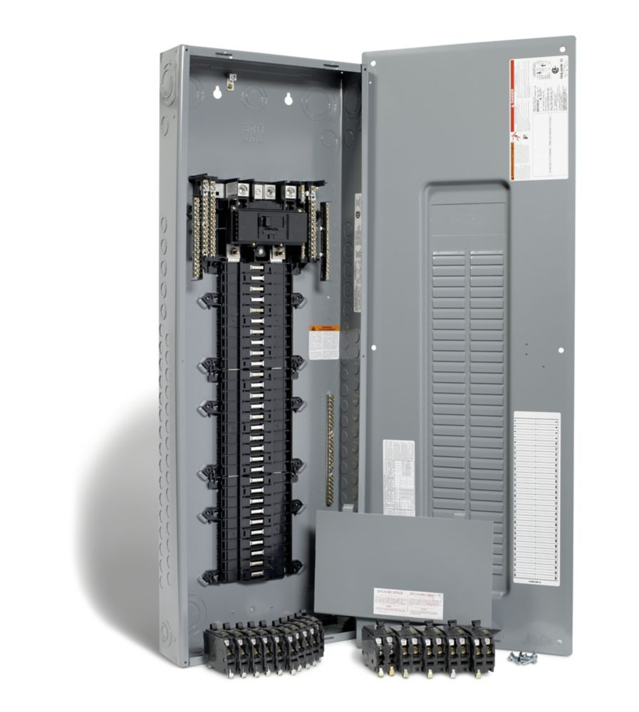 200 Amp, 60 Spaces 80 Circuits Maximum QwikPak Panel Package with Breakers
