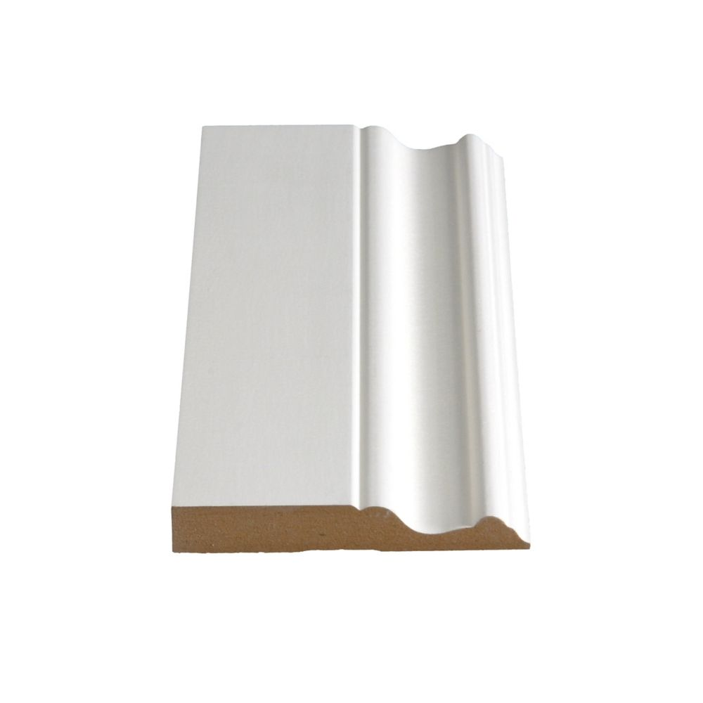 Primed Fibreboard Base 5/8 In. x 4 In. (Price per linear foot)