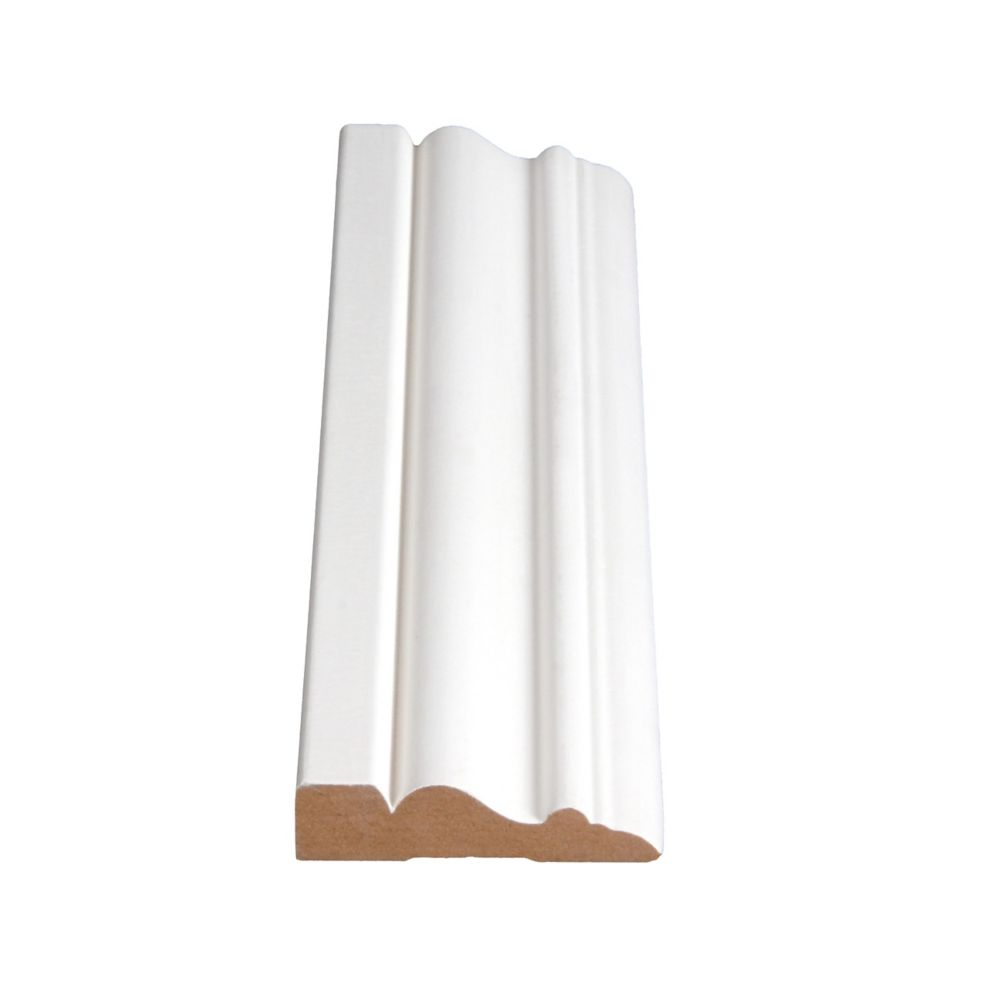 Primed Fibreboard Casing 5/8 In. x 2-1/2 In. (Price per linear foot)