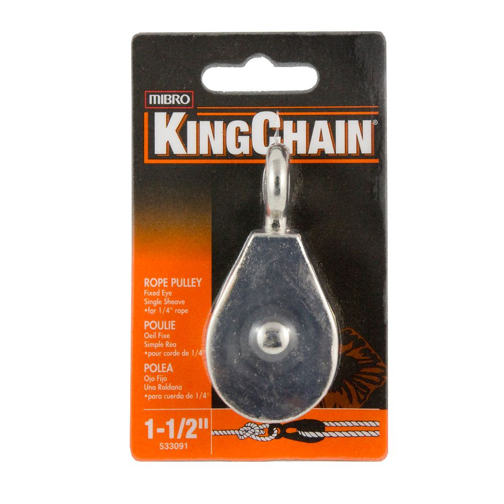 1-1/2 In. Rope Pulley Single Fixed