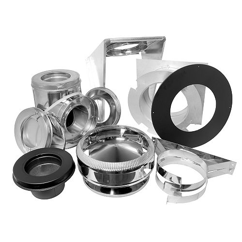 SuperVent 7 inch Wall Support Kit