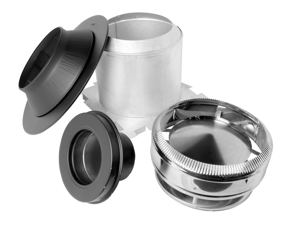 Supervent Max Chimney Ceiling Support Kit 7 Inch The
