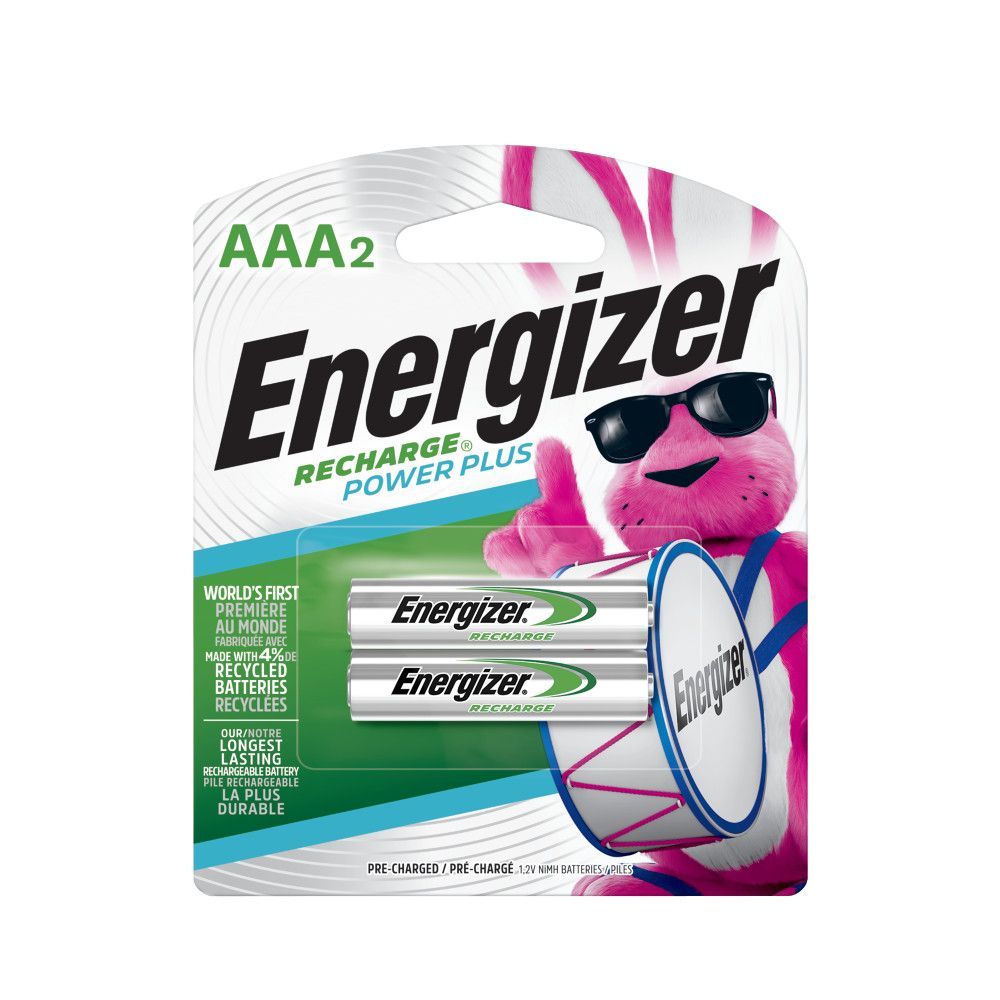 Rechargeable AAA Battery - 2 Pack