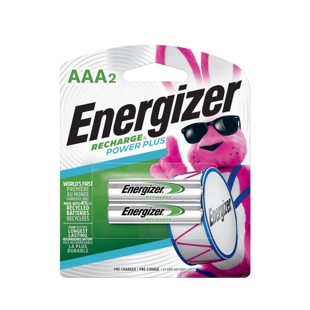 Pile rechargeable AAA - paquet de 2