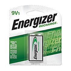 Rechargeable 9-Volt Battery