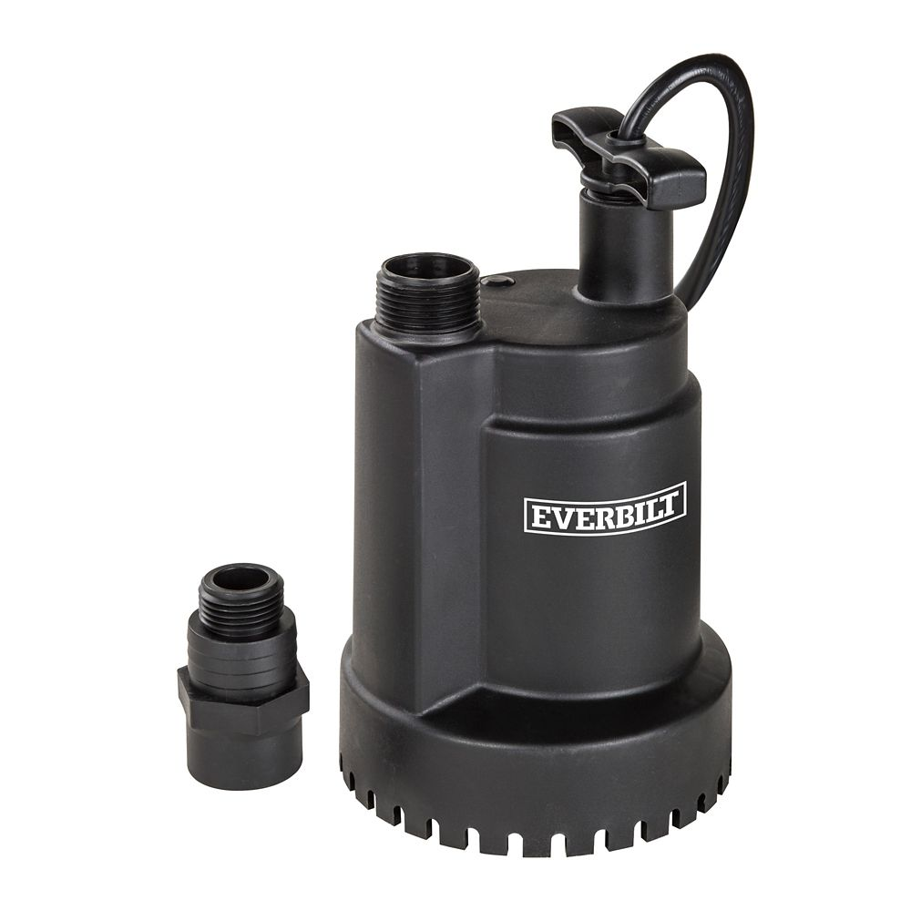 1/6 HP Heavy Duty Thermoplastic Submersible Utility Pump
