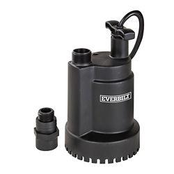 Everbilt La pompe utilitaire submersible