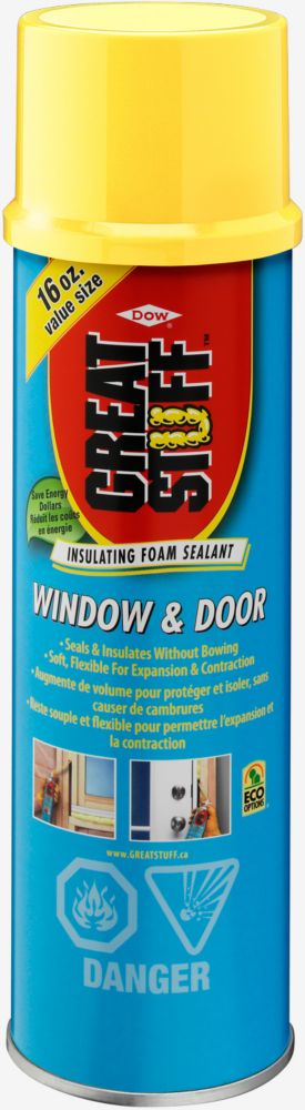 Window & Door Insulating Foam Sealant, 454 g