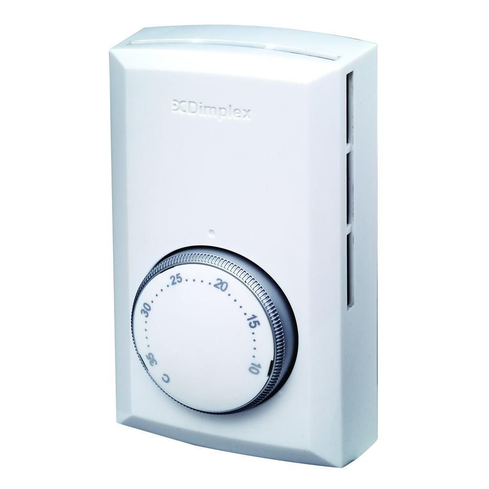 Thermostat mural bipolaire - Blanc