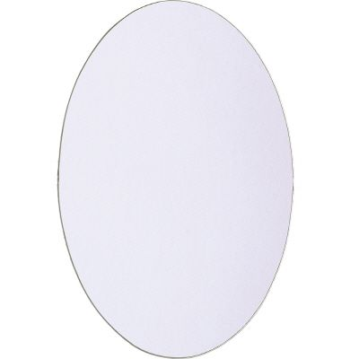 Home Decor Innovations Oval Pivot Mirror w/ Holes  21 In. x 31 In.