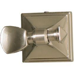 Home Decor Innovations Pivot Craftsman de nickel brossé pour miroir