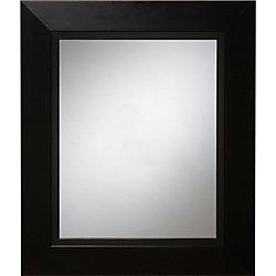 Home Decor Innovations Miroir mural noir Zen, 23 po x 27 po
