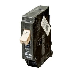 Eaton Type CH 15AMP Single Pole Breaker with Flag