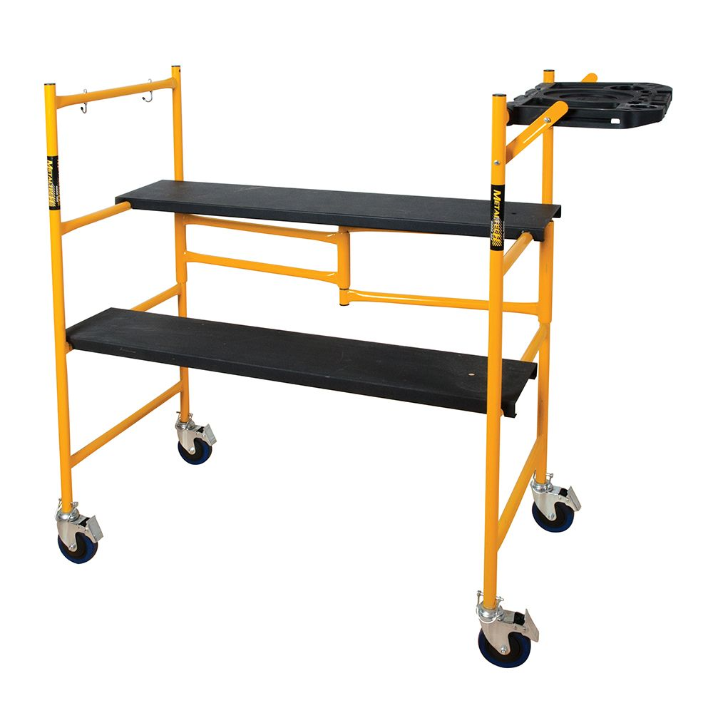 Metaltech Steel Folding Scaffold Work Platform / 500 Lbs.