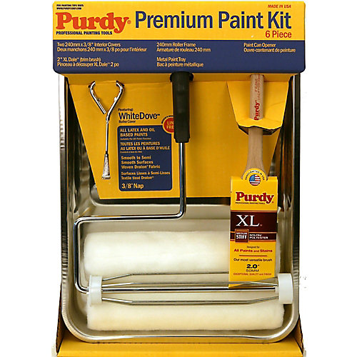 Purdy professional paint kit 6 piece kit the home depot canada professional paint kit 6 piece kit sciox Images