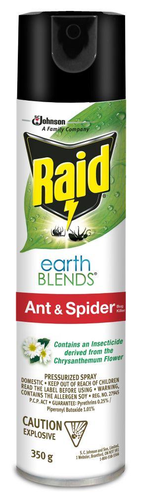 raid earthblends ant spider killer the home depot canada. Black Bedroom Furniture Sets. Home Design Ideas