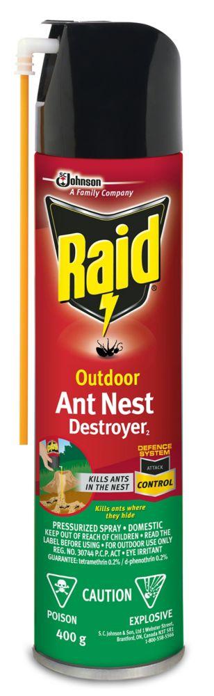 Outdoor Ant Nest Destroyer