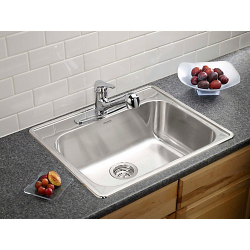 Homestyle 1.0 Top Mount Stainless Steel Sink