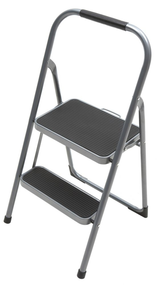 Easyreach By Gorilla Ladders 2-Step Highback Step Stool