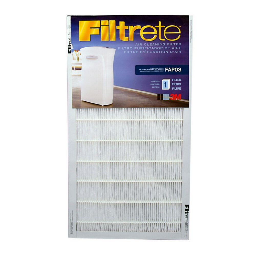3M Filtrete FAPF03 Ultra Clean Air Purifier Filter