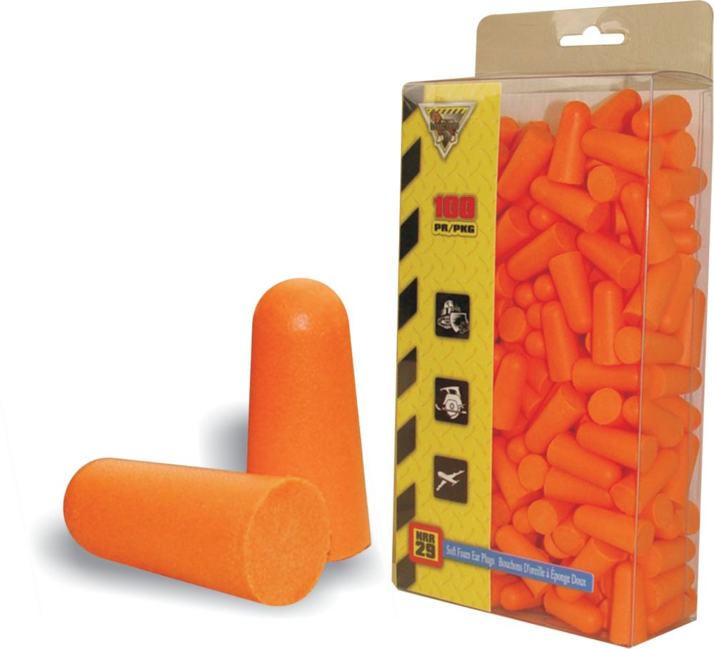 Disposable Ear Plugs 100 Pack