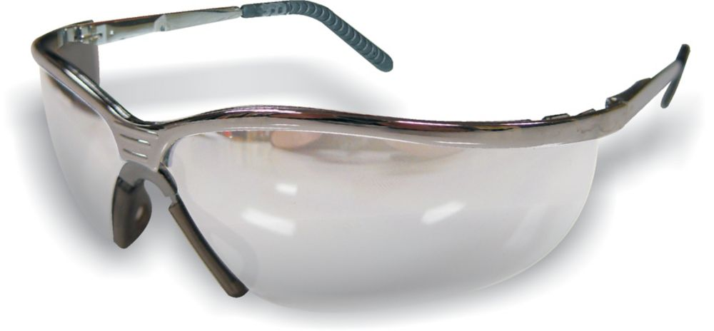 Metal Safety Glass Clear Lens