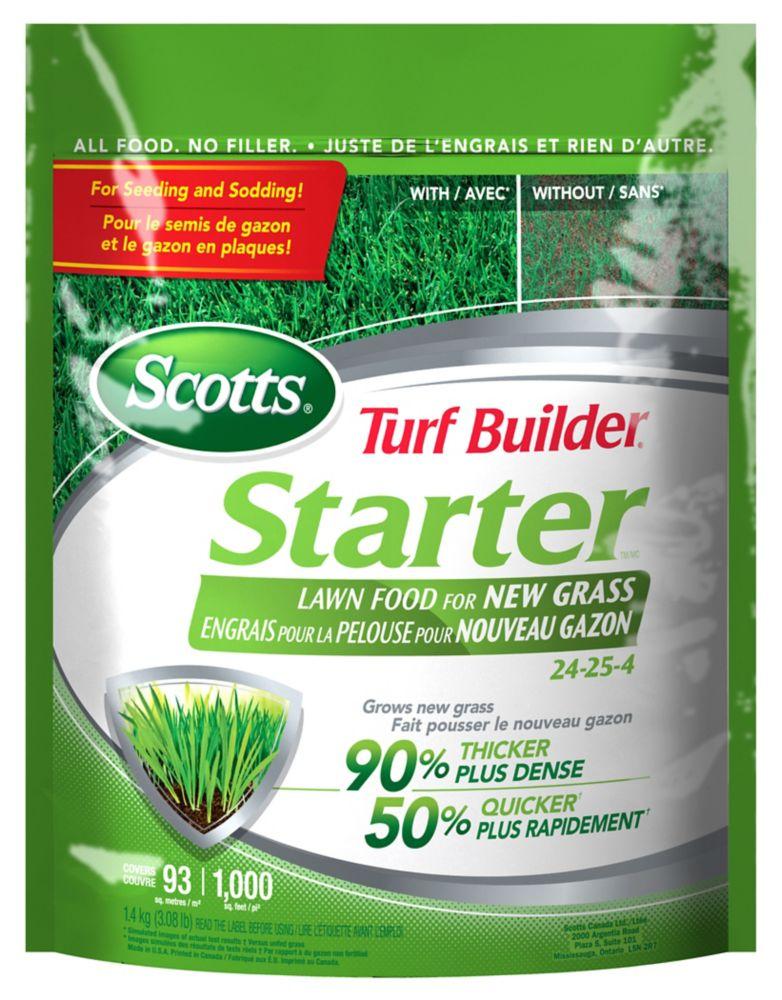 Scotts Turf Builder Starter Fertilizer 24-24-4
